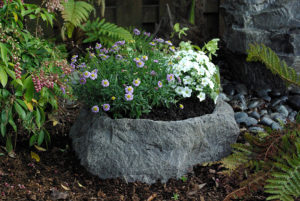 Planter Accent Rock
