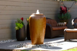"""Tall Jar 42"""" Pottery"""