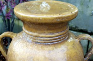 www.LiquidArtFountains.com Handles Pottery, Iron Wash